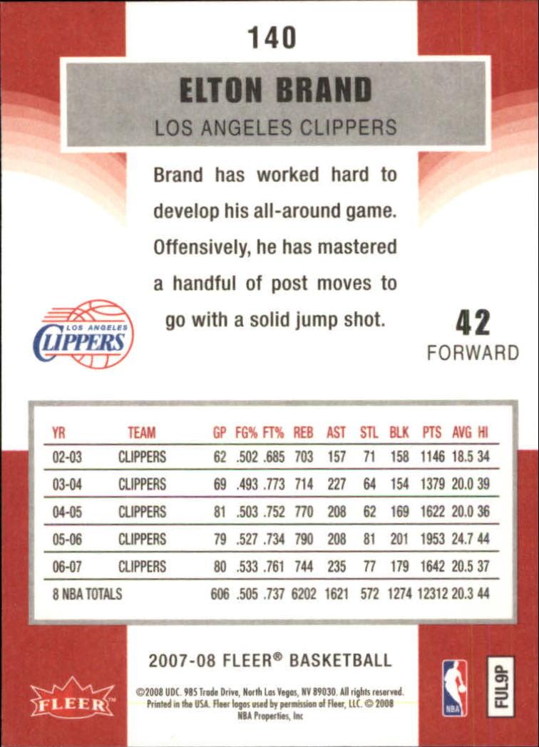 2007-08-Fleer-Basketball-Cards-Base-Set-Pick-From-List thumbnail 273