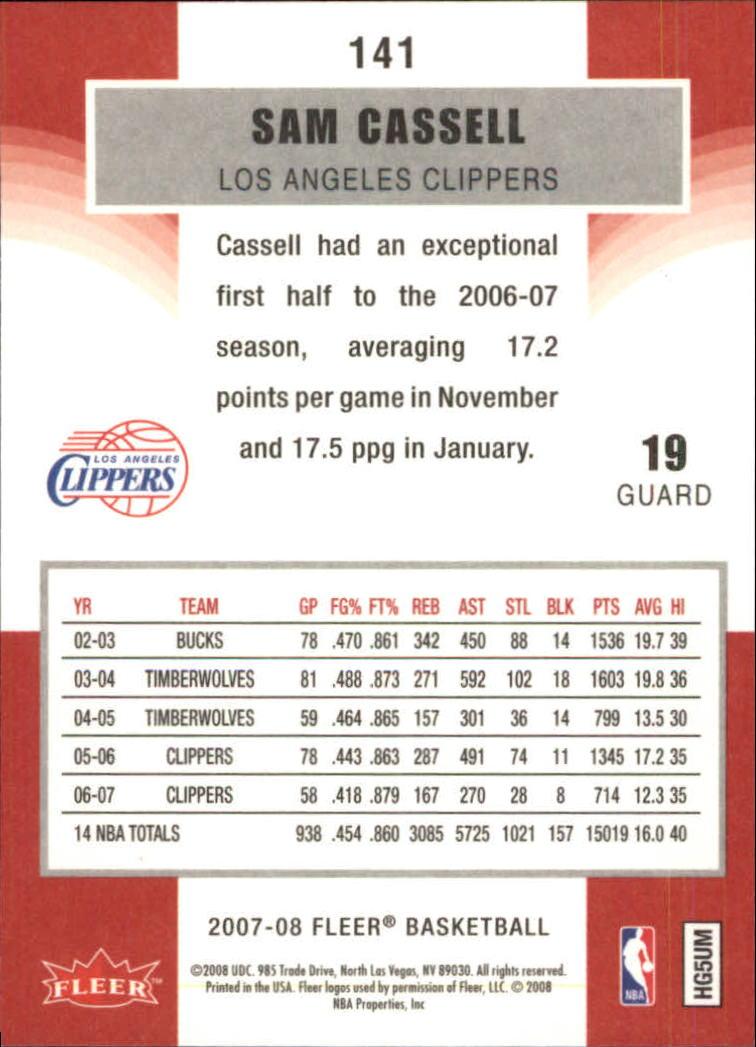 2007-08-Fleer-Basketball-Cards-Base-Set-Pick-From-List thumbnail 275