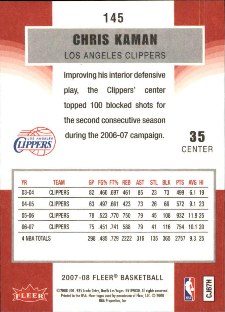 2007-08-Fleer-Basketball-Cards-Base-Set-Pick-From-List thumbnail 283