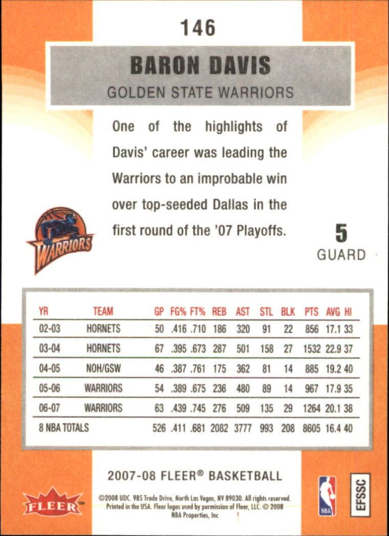 2007-08-Fleer-Basketball-Cards-Base-Set-Pick-From-List thumbnail 285