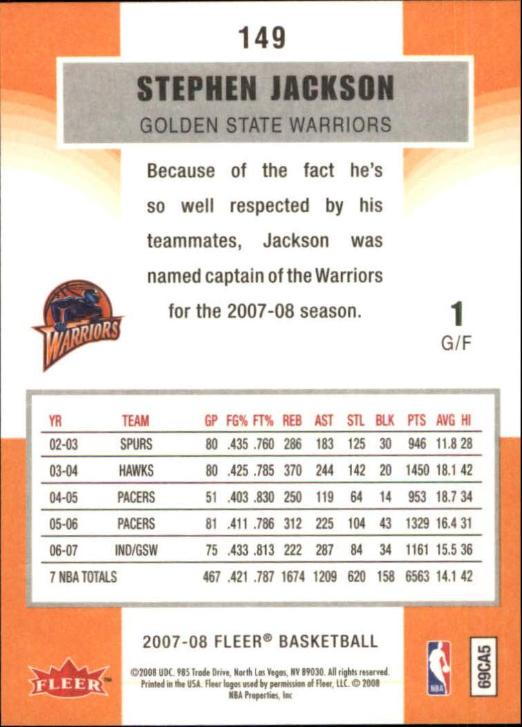 2007-08-Fleer-Basketball-Cards-Base-Set-Pick-From-List thumbnail 291