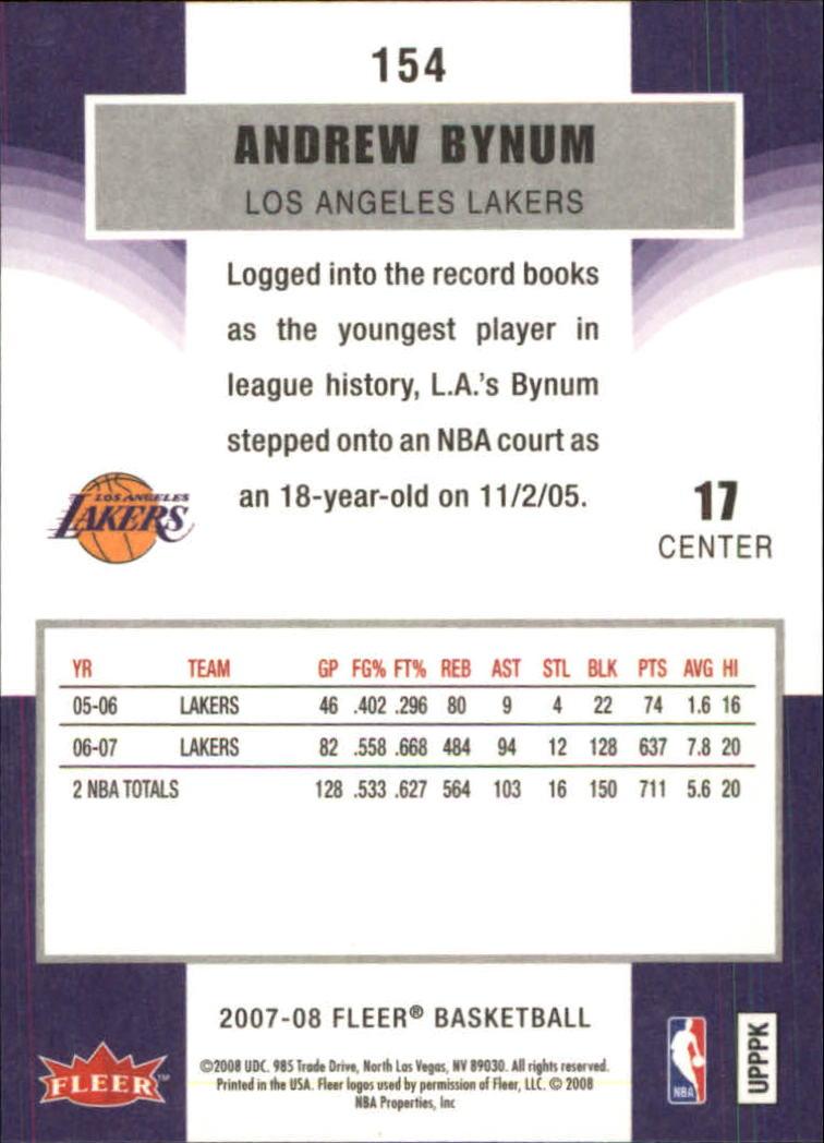 2007-08-Fleer-Basketball-Cards-Base-Set-Pick-From-List thumbnail 297