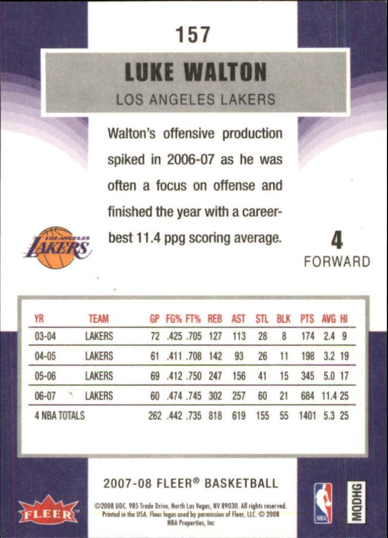 2007-08-Fleer-Basketball-Cards-Base-Set-Pick-From-List thumbnail 303