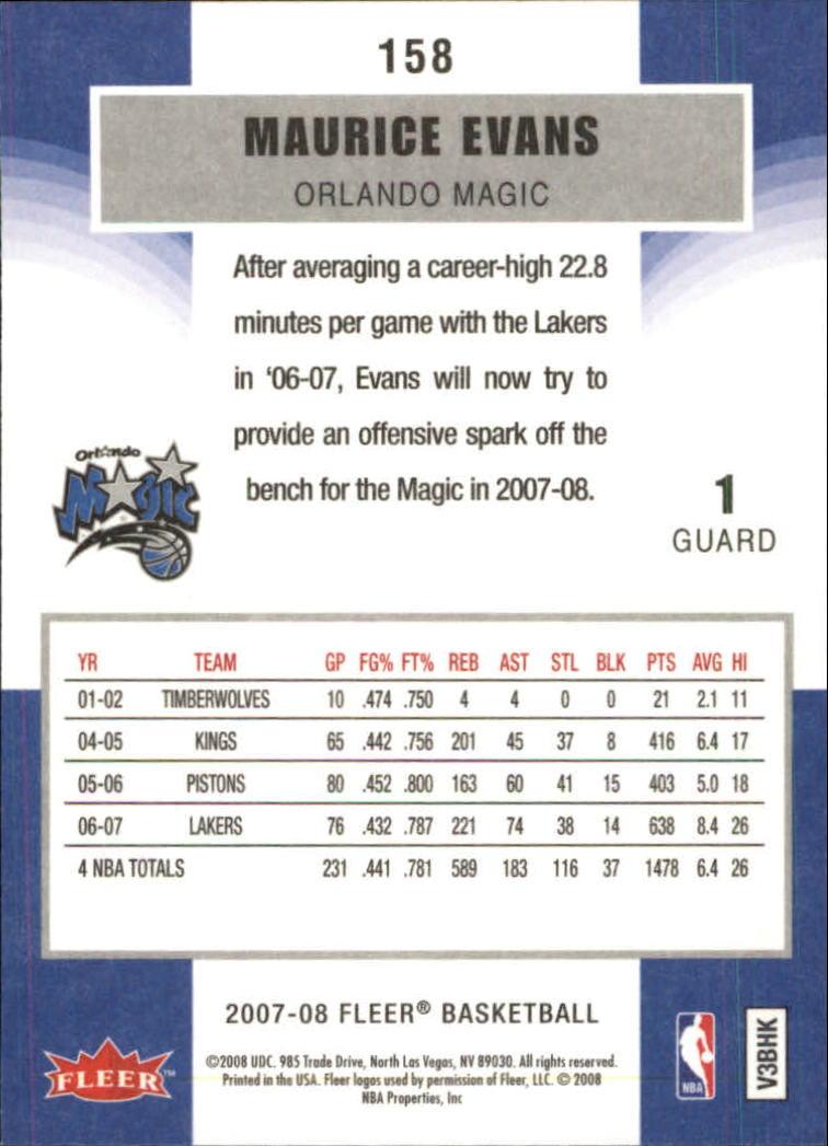 2007-08-Fleer-Basketball-Cards-Base-Set-Pick-From-List thumbnail 305