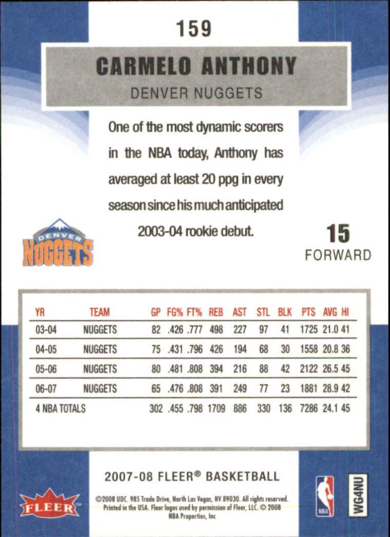 2007-08-Fleer-Basketball-Cards-Base-Set-Pick-From-List thumbnail 307