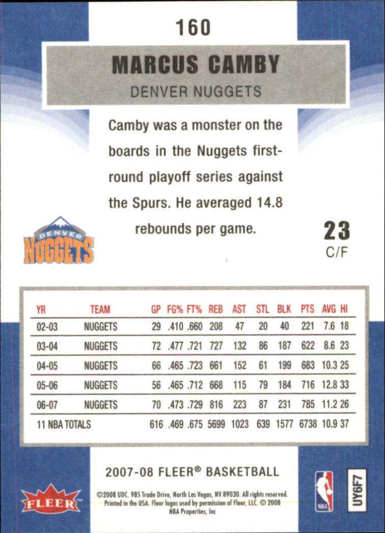 2007-08-Fleer-Basketball-Cards-Base-Set-Pick-From-List thumbnail 309