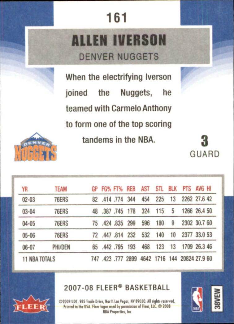 2007-08-Fleer-Basketball-Cards-Base-Set-Pick-From-List thumbnail 311