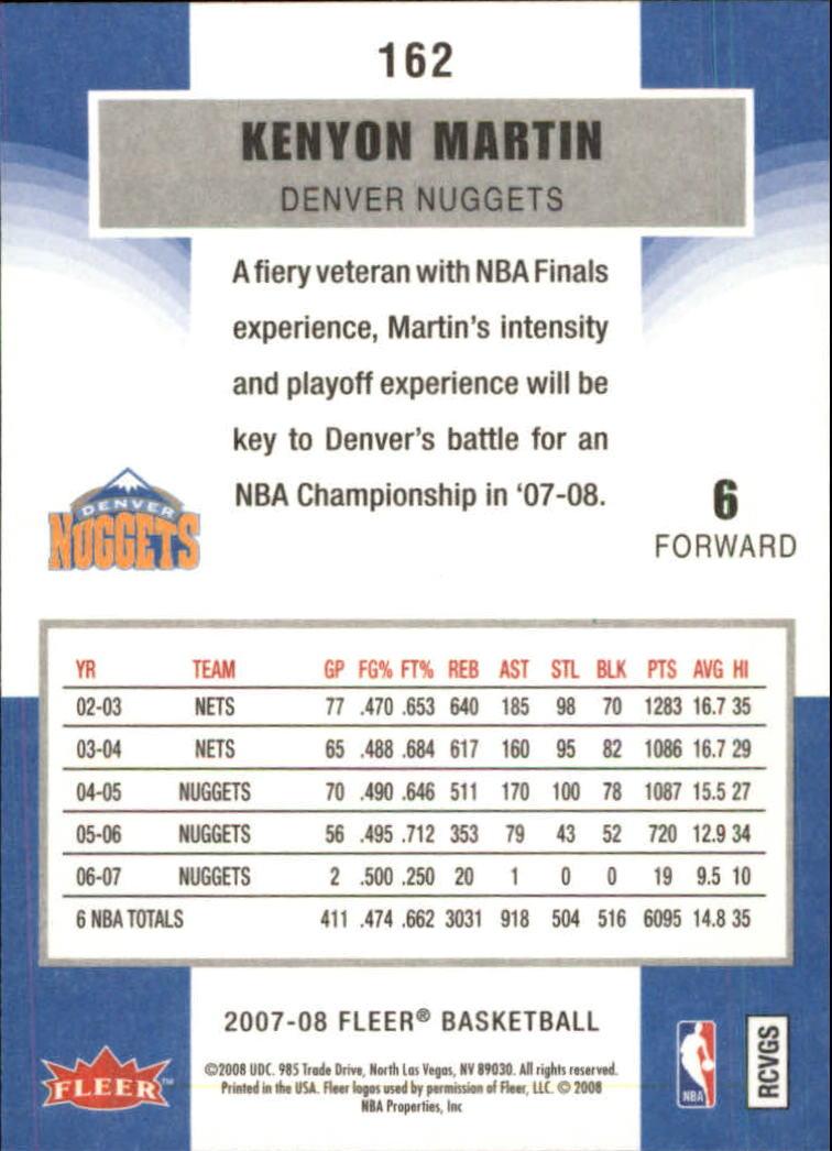 2007-08-Fleer-Basketball-Cards-Base-Set-Pick-From-List thumbnail 313
