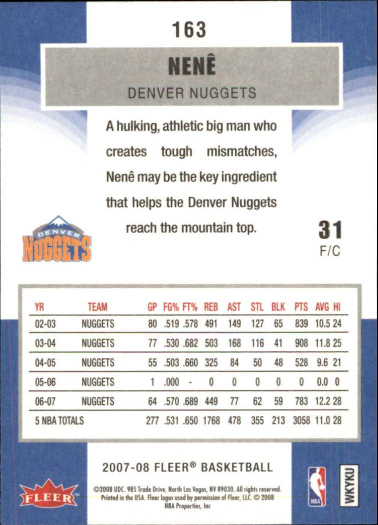 2007-08-Fleer-Basketball-Cards-Base-Set-Pick-From-List thumbnail 315