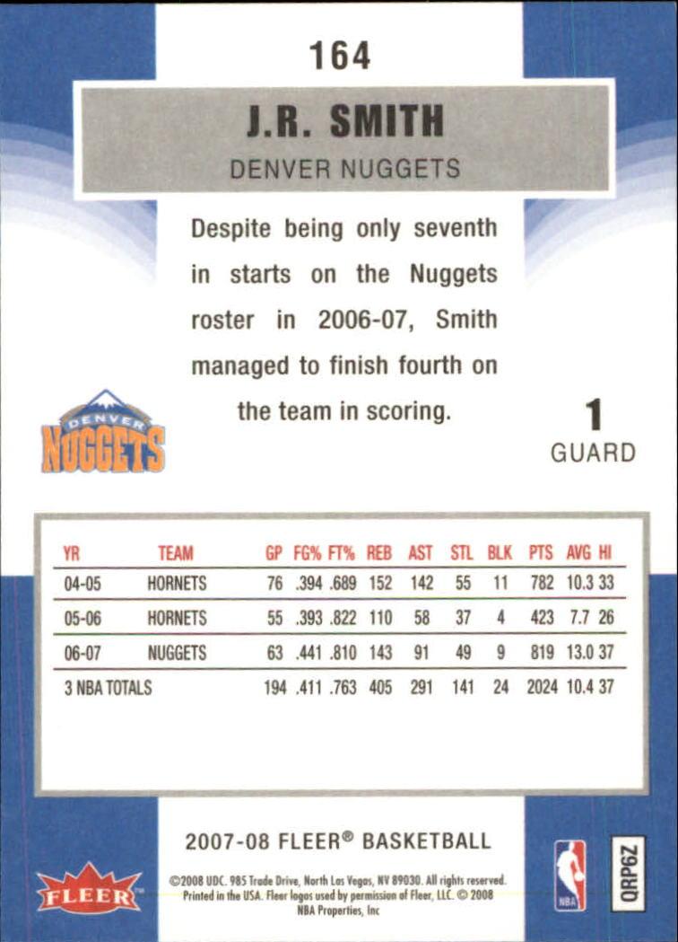 2007-08-Fleer-Basketball-Cards-Base-Set-Pick-From-List thumbnail 317
