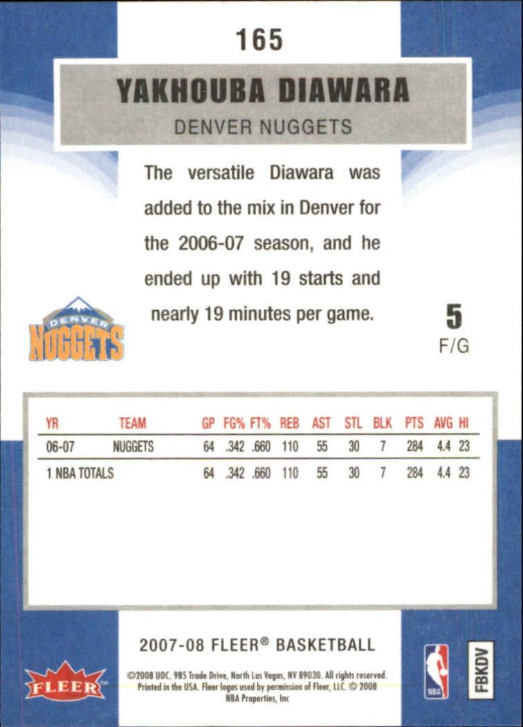 2007-08-Fleer-Basketball-Cards-Base-Set-Pick-From-List thumbnail 319