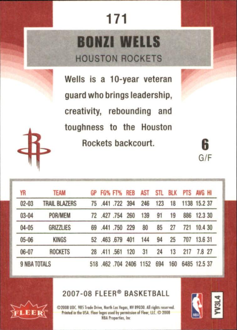 2007-08-Fleer-Basketball-Cards-Base-Set-Pick-From-List thumbnail 331