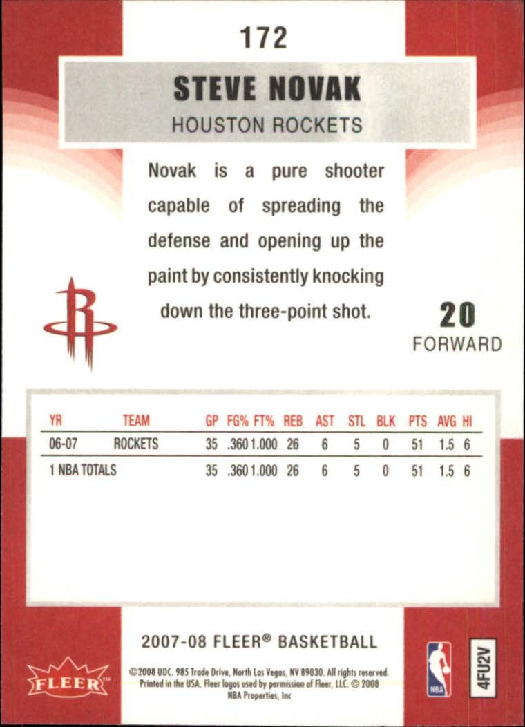 2007-08-Fleer-Basketball-Cards-Base-Set-Pick-From-List thumbnail 333