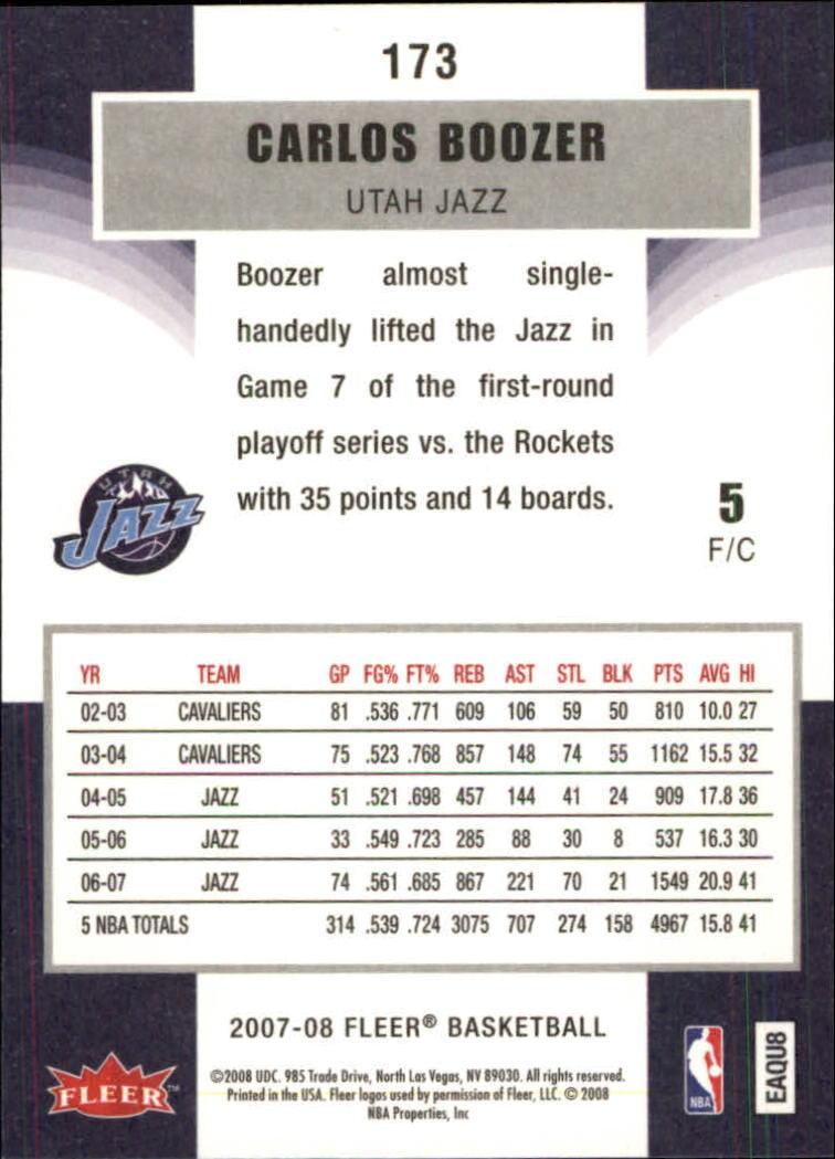 2007-08-Fleer-Basketball-Cards-Base-Set-Pick-From-List thumbnail 335