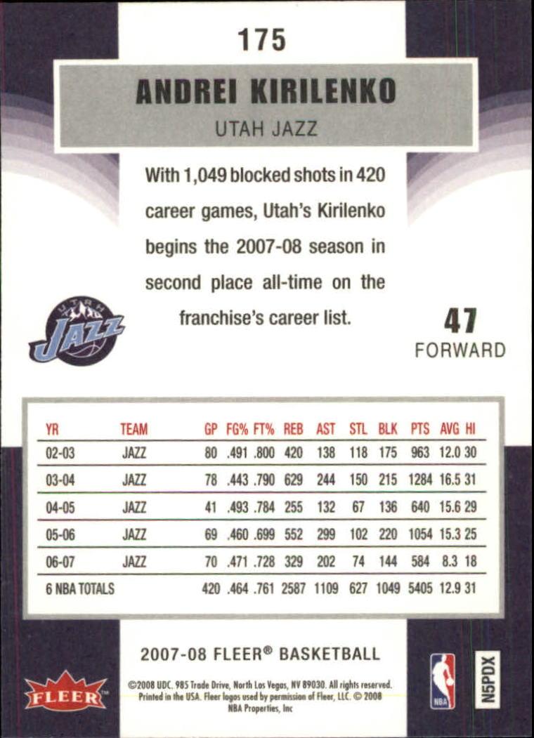 2007-08-Fleer-Basketball-Cards-Base-Set-Pick-From-List thumbnail 339