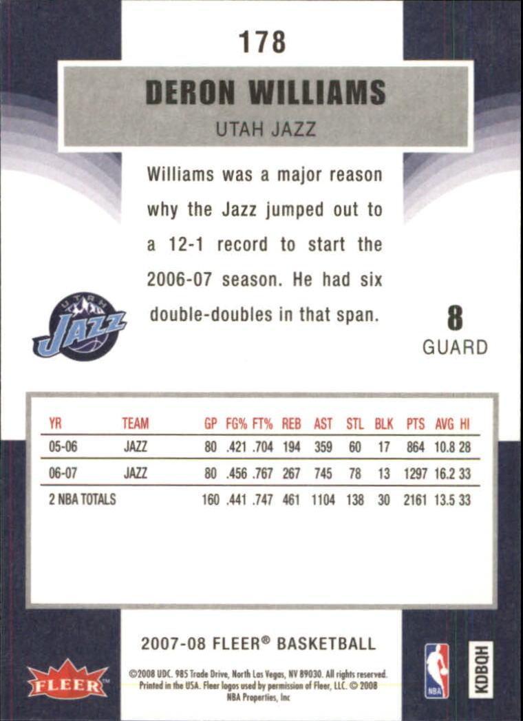 2007-08-Fleer-Basketball-Cards-Base-Set-Pick-From-List thumbnail 345