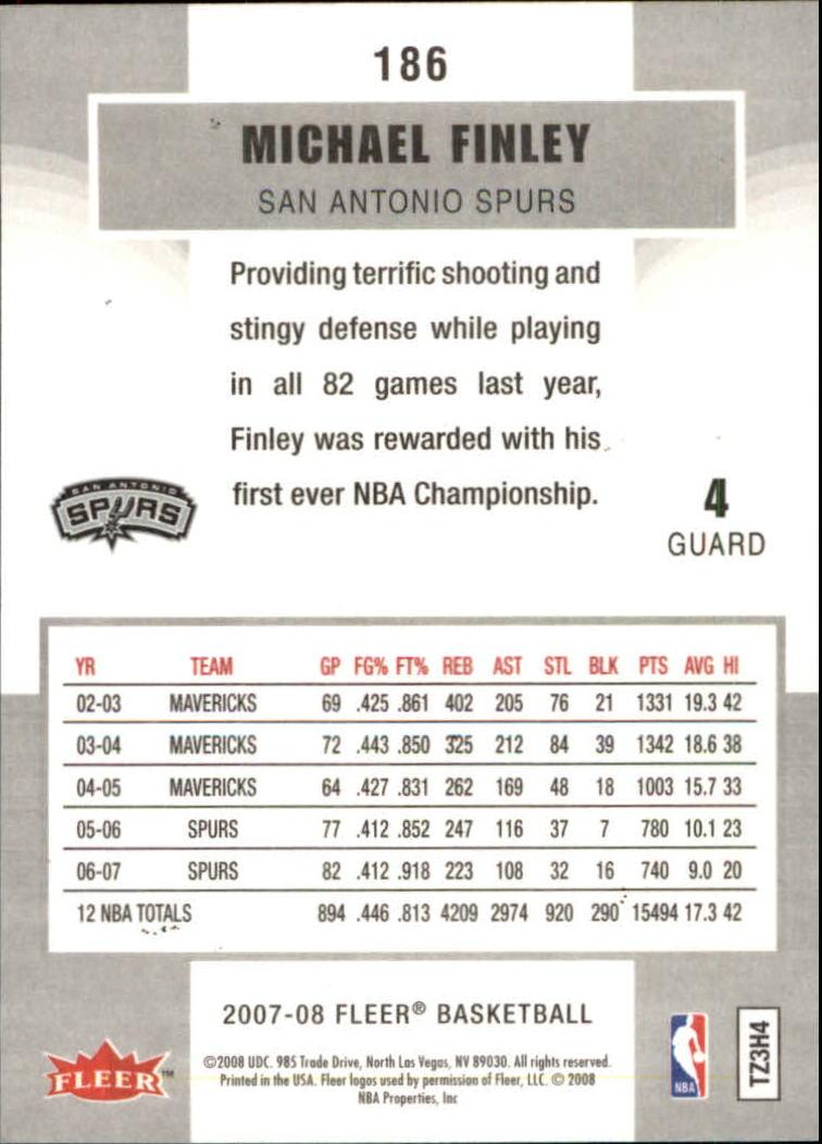 2007-08-Fleer-Basketball-Cards-Base-Set-Pick-From-List thumbnail 361