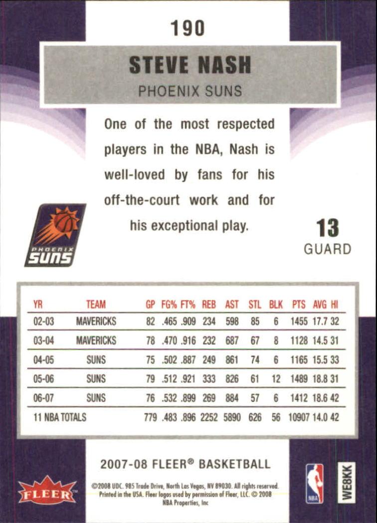 2007-08-Fleer-Basketball-Cards-Base-Set-Pick-From-List thumbnail 369
