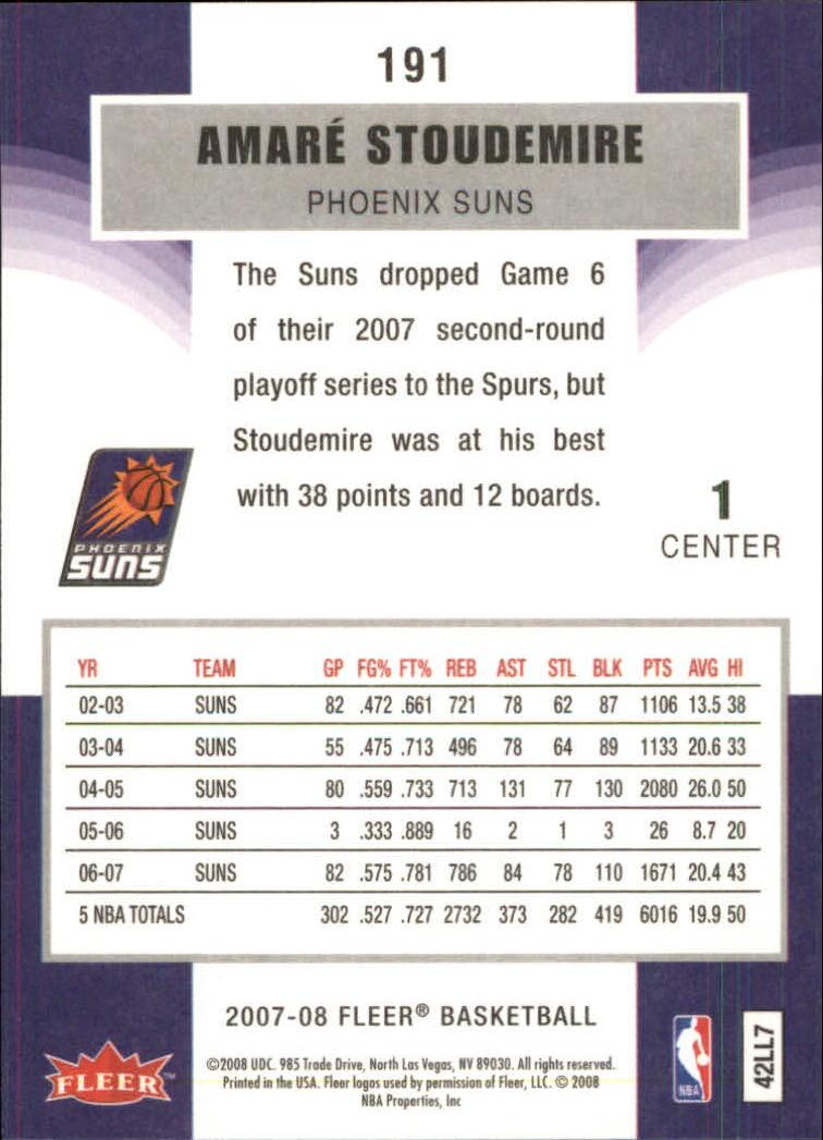 2007-08-Fleer-Basketball-Cards-Base-Set-Pick-From-List thumbnail 371