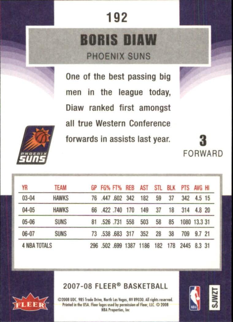 2007-08-Fleer-Basketball-Cards-Base-Set-Pick-From-List thumbnail 373