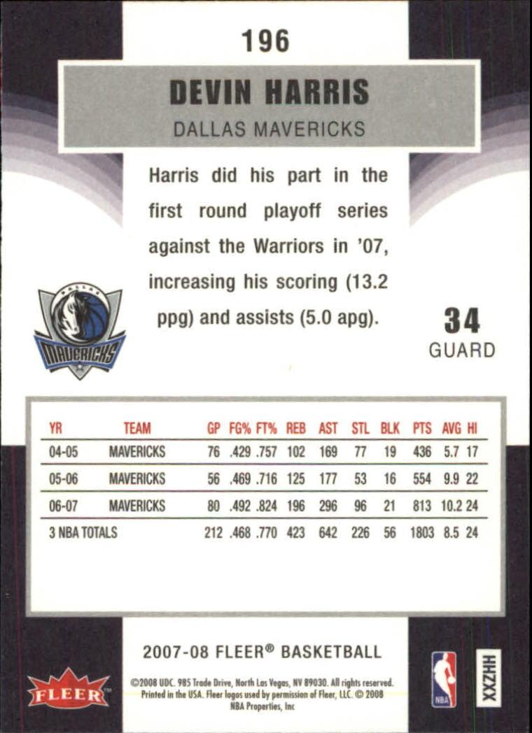2007-08-Fleer-Basketball-Cards-Base-Set-Pick-From-List thumbnail 381