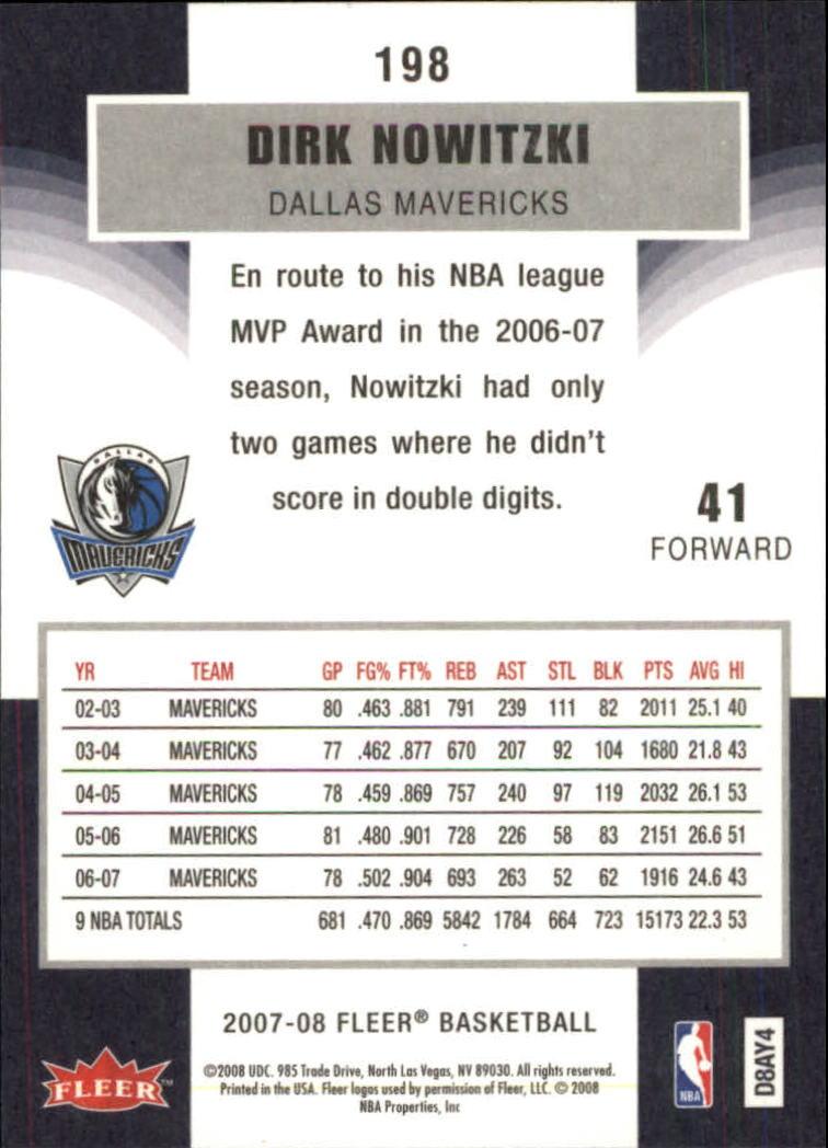 2007-08-Fleer-Basketball-Cards-Base-Set-Pick-From-List thumbnail 385