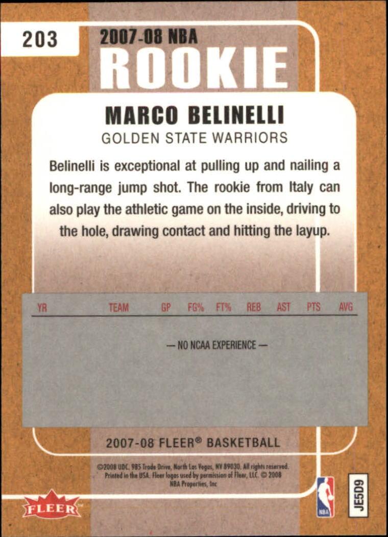 2007-08-Fleer-Basketball-Cards-Base-Set-Pick-From-List thumbnail 393