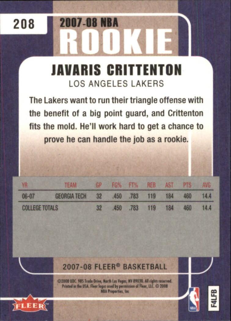 2007-08-Fleer-Basketball-Cards-Base-Set-Pick-From-List thumbnail 399
