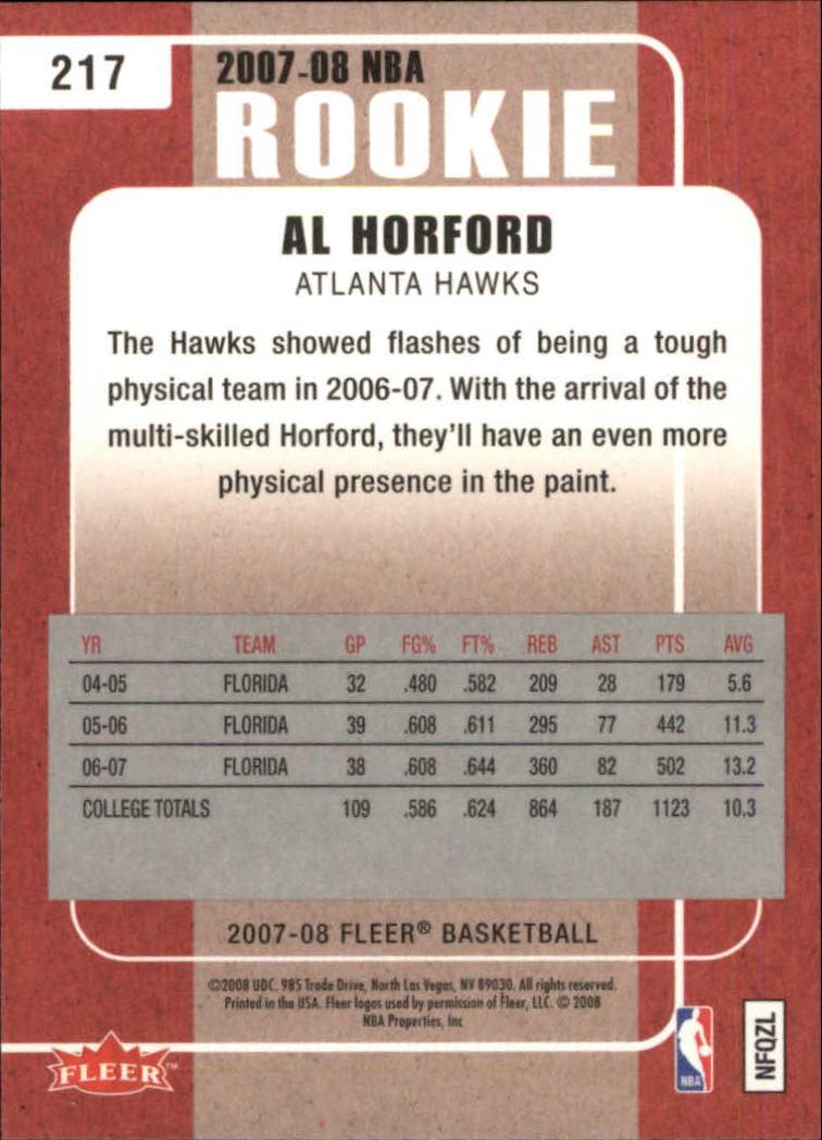 2007-08-Fleer-Basketball-Cards-Base-Set-Pick-From-List thumbnail 403
