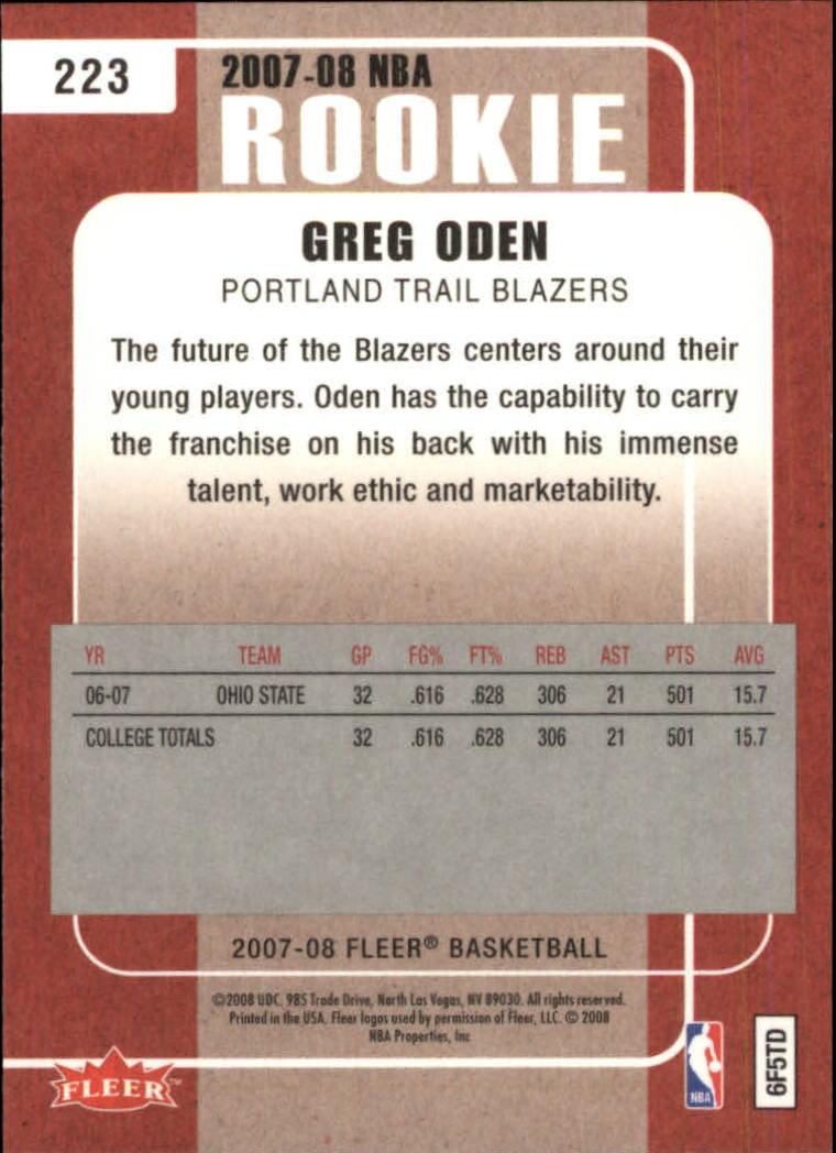 2007-08-Fleer-Basketball-Cards-Base-Set-Pick-From-List thumbnail 407
