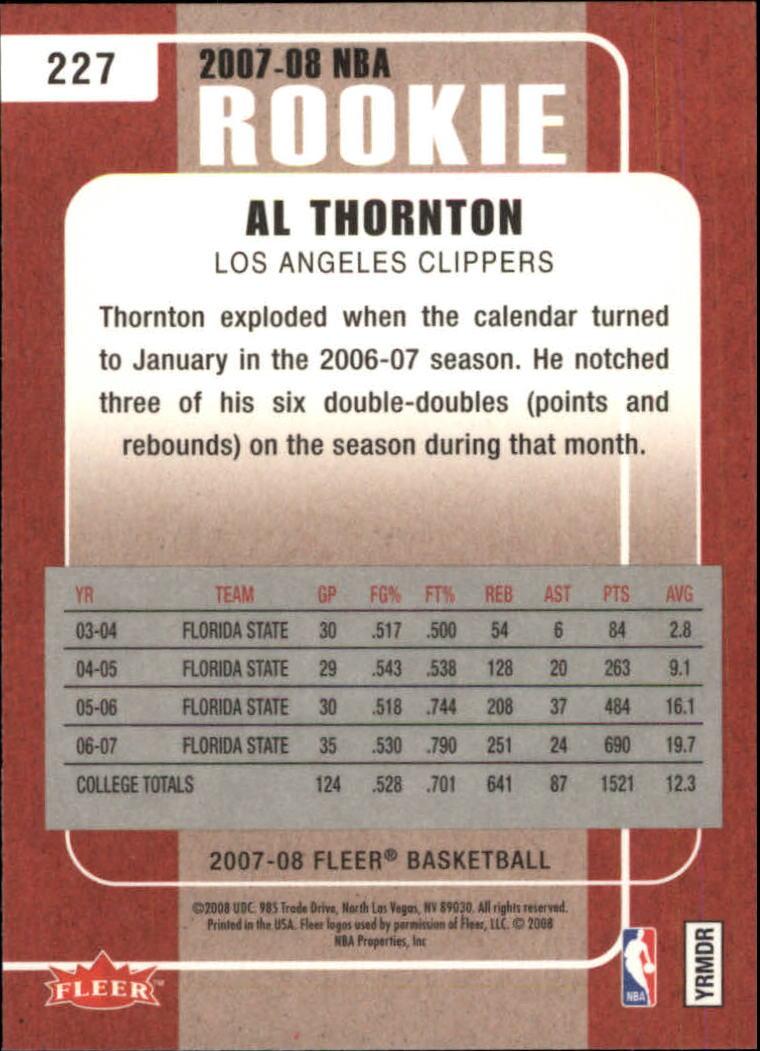 2007-08-Fleer-Basketball-Cards-Base-Set-Pick-From-List thumbnail 413