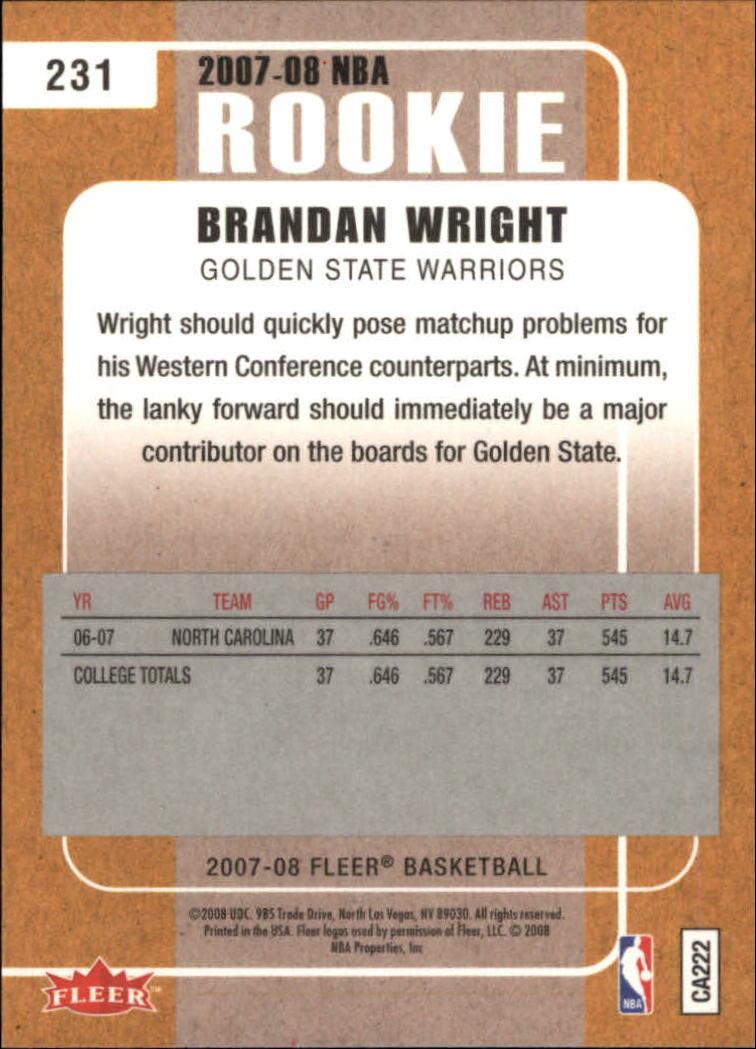 2007-08-Fleer-Basketball-Cards-Base-Set-Pick-From-List thumbnail 415
