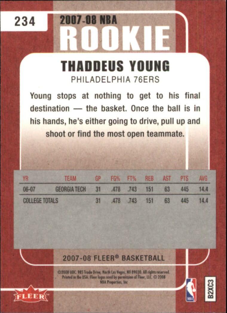 2007-08-Fleer-Basketball-Cards-Base-Set-Pick-From-List thumbnail 421