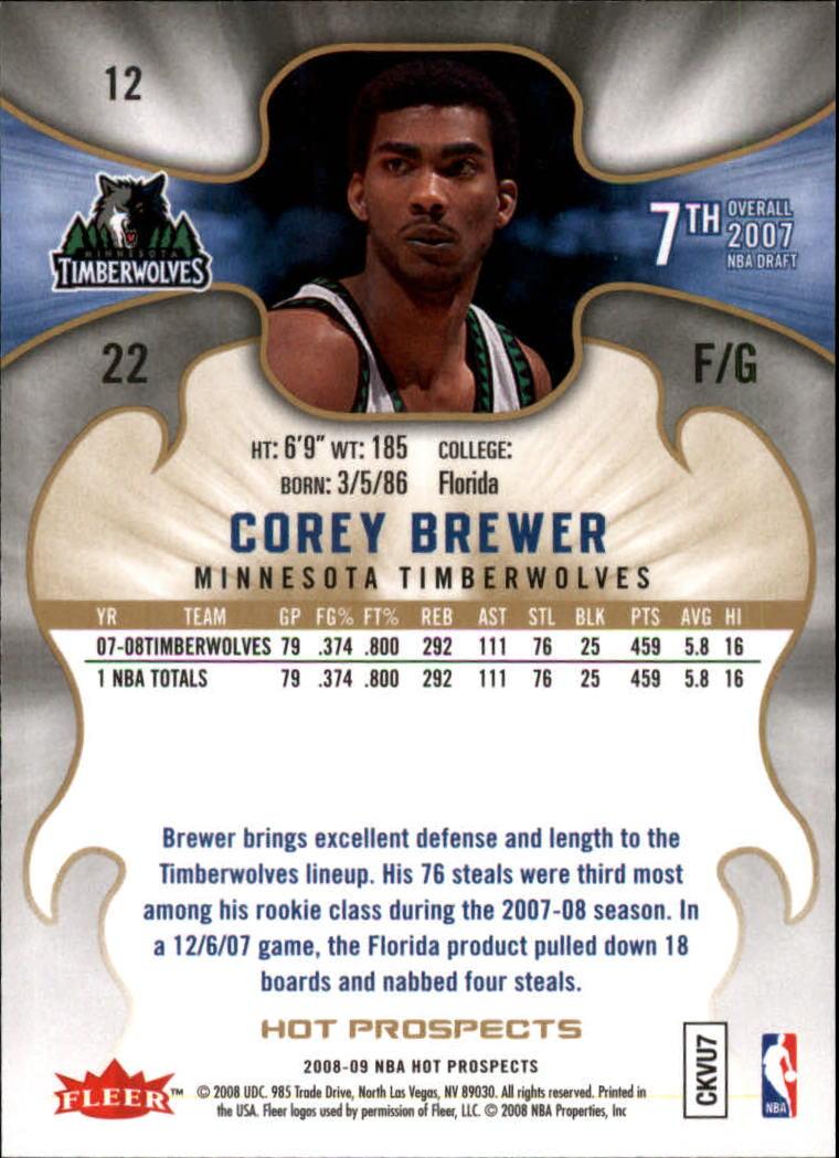 Dirk nowitzki 2007//08 Hot Prospects baloncesto Walker