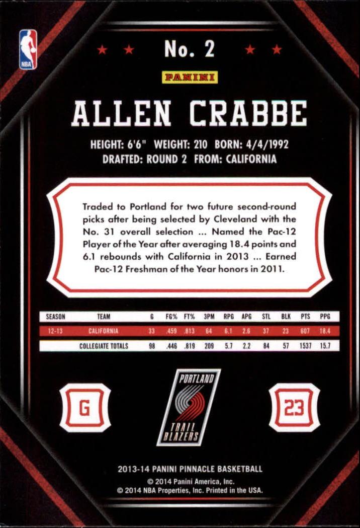 2013-14-Pinnacle-Bk-Card-s-1-150-Rookies-A2853-You-Pick-10-FREE-SHIP thumbnail 5