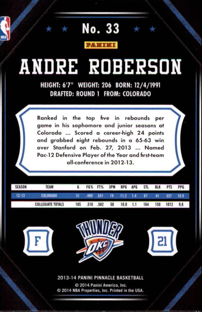 2013-14-Pinnacle-Bk-Card-s-1-150-Rookies-A2853-You-Pick-10-FREE-SHIP thumbnail 59