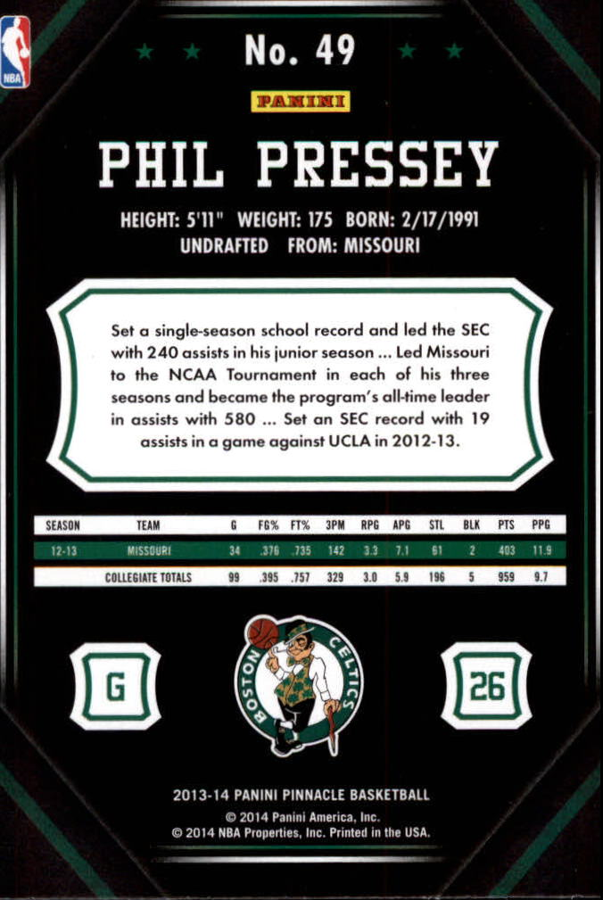 2013-14-Pinnacle-Bk-Card-s-1-150-Rookies-A2853-You-Pick-10-FREE-SHIP thumbnail 91