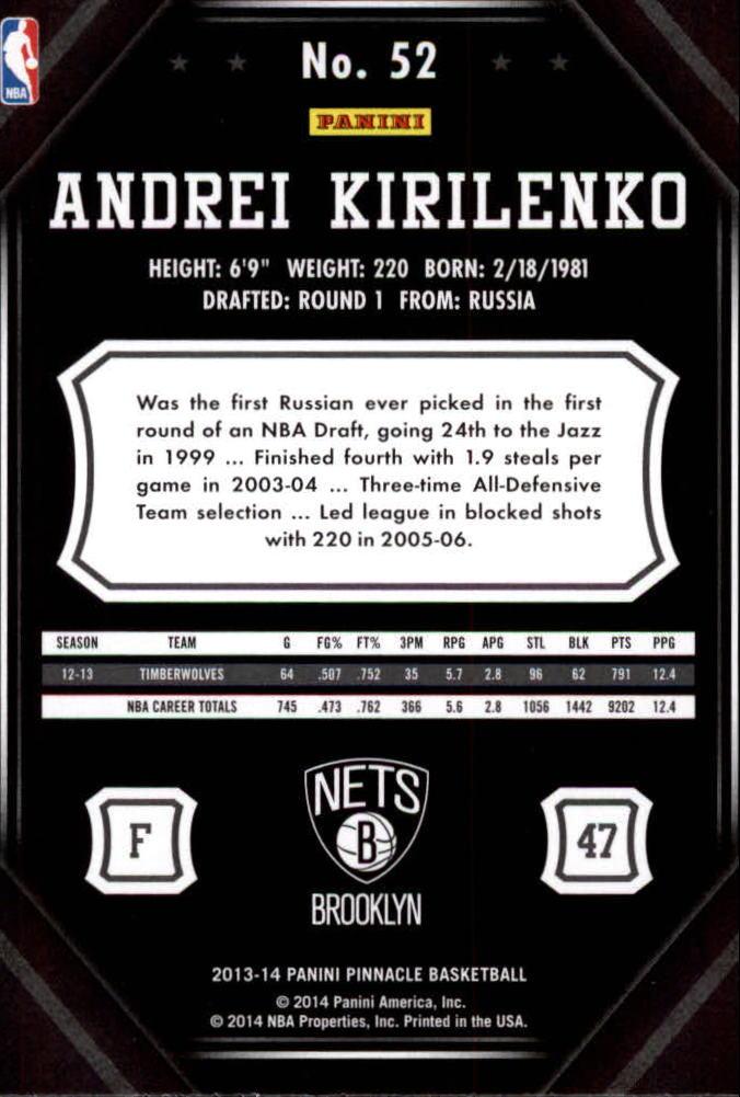 2013-14-Pinnacle-Bk-Card-s-1-150-Rookies-A2853-You-Pick-10-FREE-SHIP thumbnail 97
