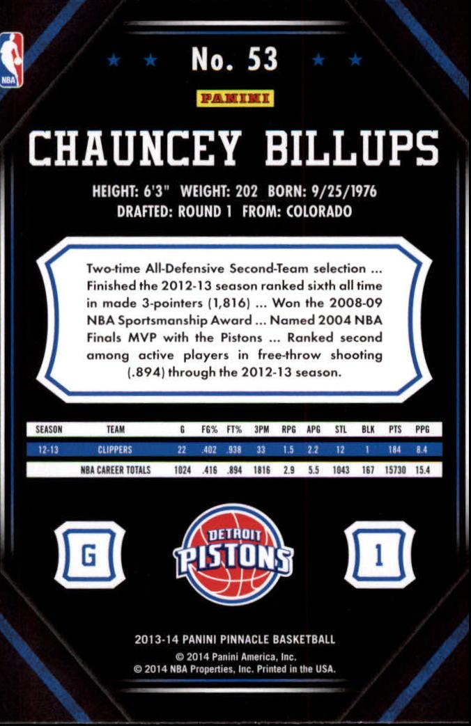 2013-14-Pinnacle-Bk-Card-s-1-150-Rookies-A2853-You-Pick-10-FREE-SHIP thumbnail 99