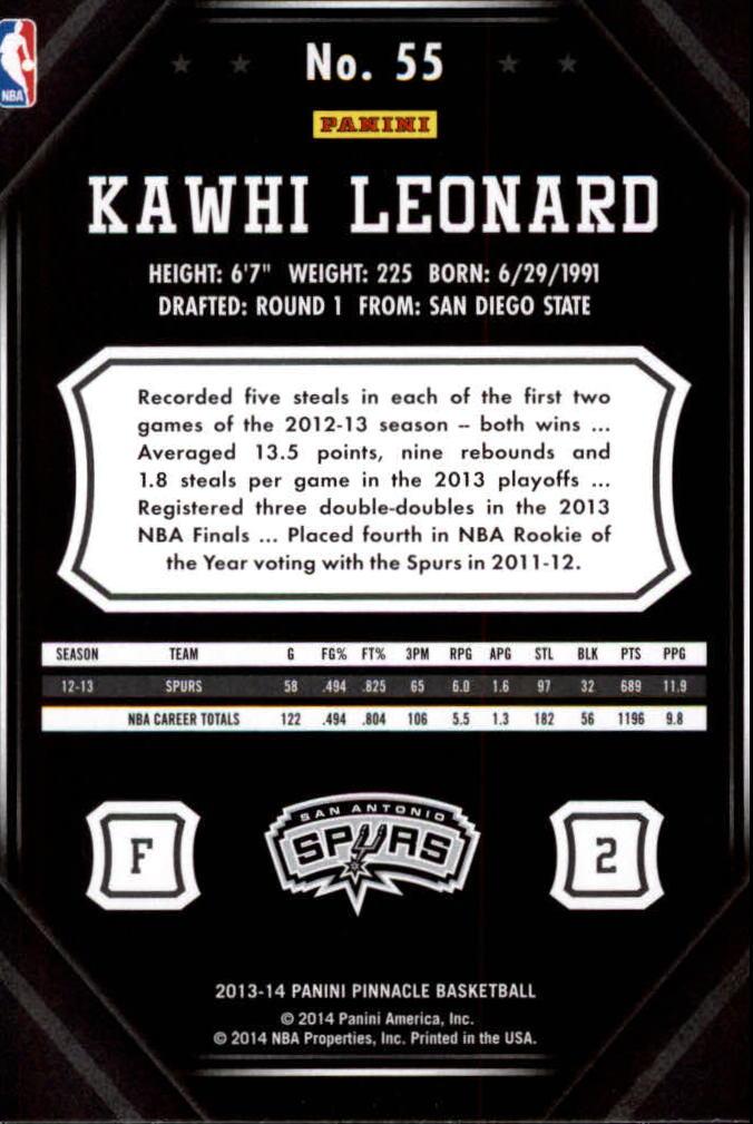 2013-14-Pinnacle-Bk-Card-s-1-150-Rookies-A2853-You-Pick-10-FREE-SHIP thumbnail 103