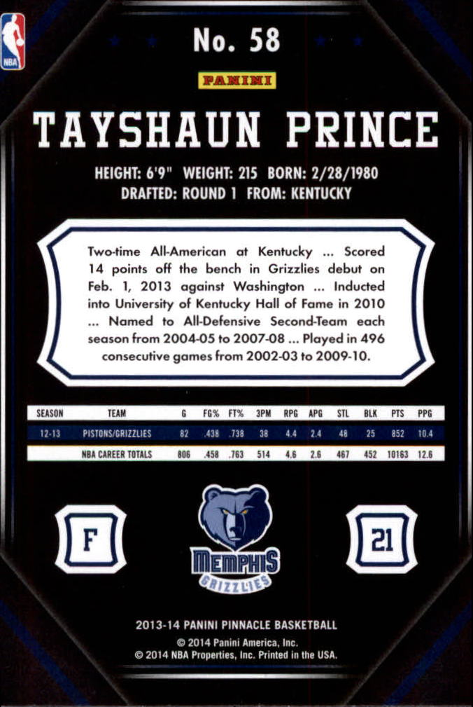 2013-14-Pinnacle-Bk-Card-s-1-150-Rookies-A2853-You-Pick-10-FREE-SHIP thumbnail 109