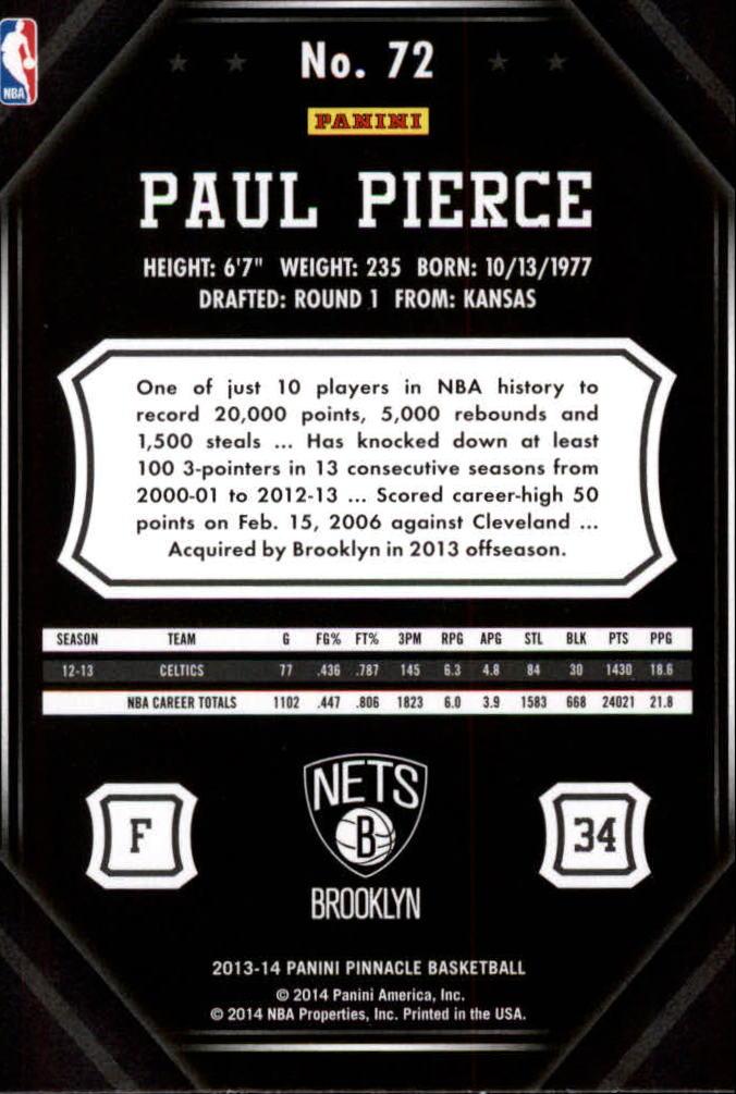 2013-14-Pinnacle-Bk-Card-s-1-150-Rookies-A2853-You-Pick-10-FREE-SHIP thumbnail 135