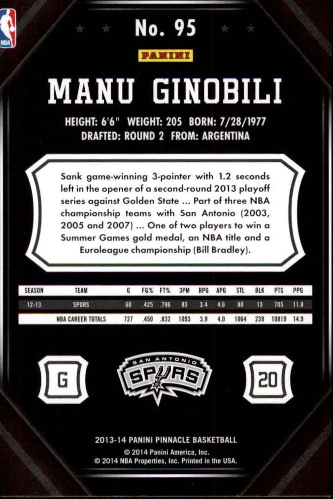 2013-14-Pinnacle-Bk-Card-s-1-150-Rookies-A2853-You-Pick-10-FREE-SHIP thumbnail 181