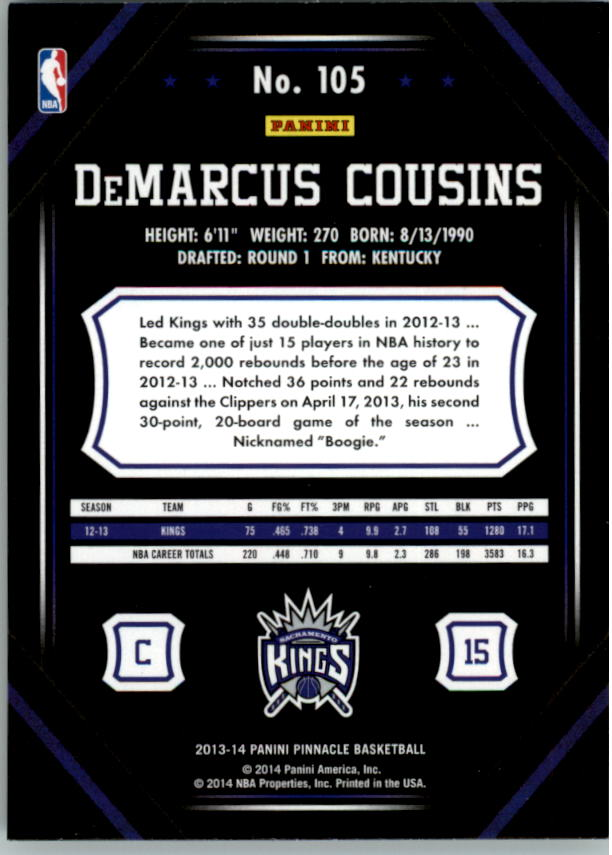 2013-14-Pinnacle-Bk-Card-s-1-150-Rookies-A2853-You-Pick-10-FREE-SHIP thumbnail 201