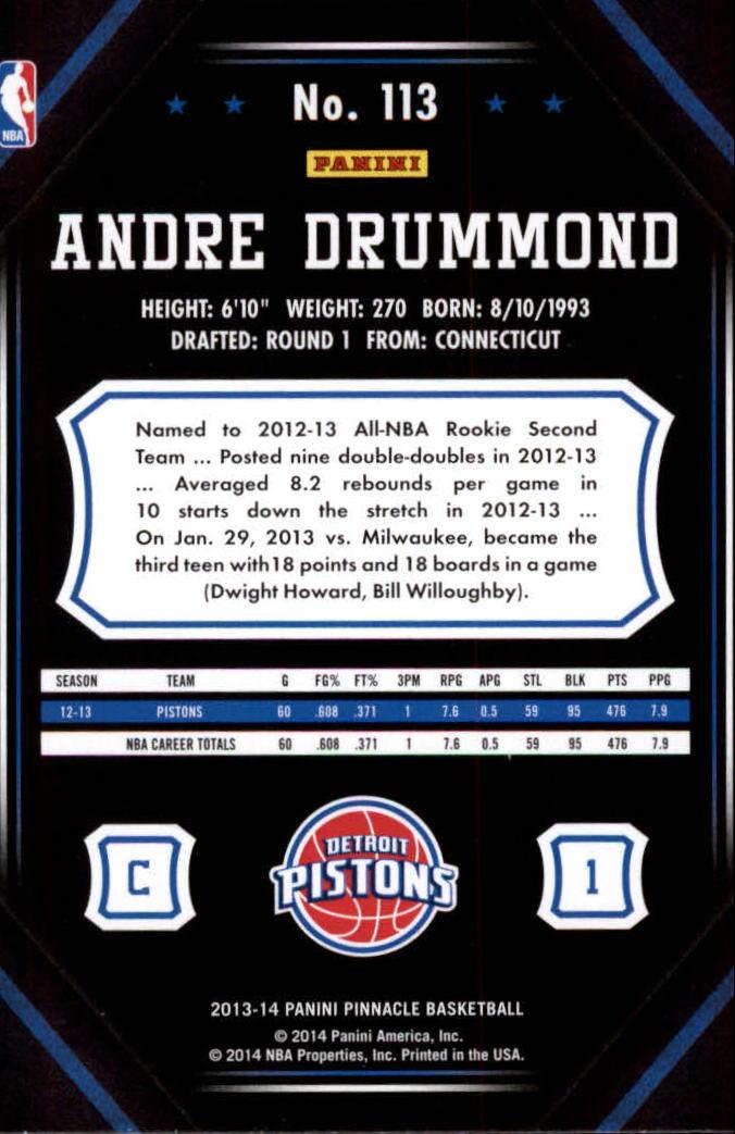 2013-14-Pinnacle-Bk-Card-s-1-150-Rookies-A2853-You-Pick-10-FREE-SHIP thumbnail 213