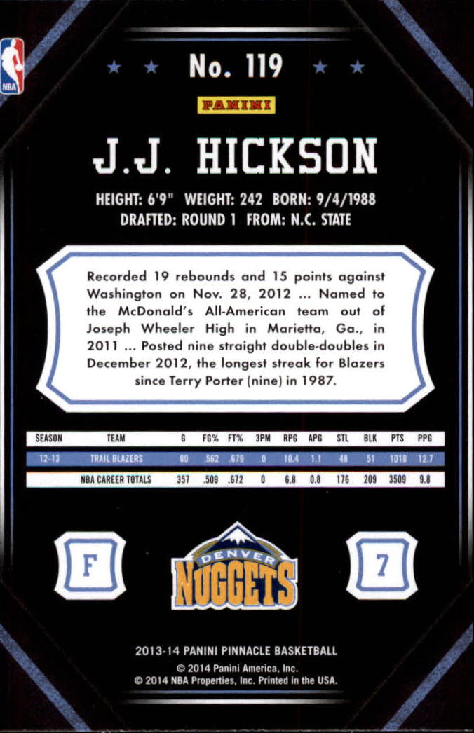 2013-14-Pinnacle-Bk-Card-s-1-150-Rookies-A2853-You-Pick-10-FREE-SHIP thumbnail 223