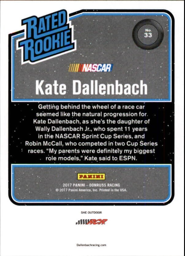 2017-Donruss-Racing-s-1-189-RCs-Inserts-A2404-You-Pick-10-FREE-SHIP thumbnail 11
