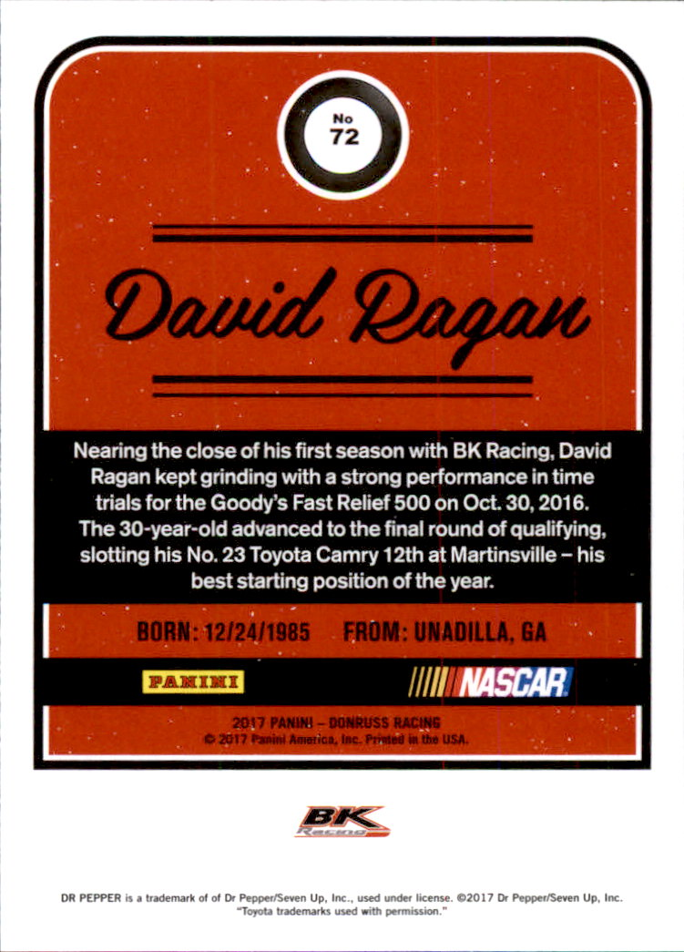 2017-Donruss-Racing-s-1-189-RCs-Inserts-A2404-You-Pick-10-FREE-SHIP thumbnail 85