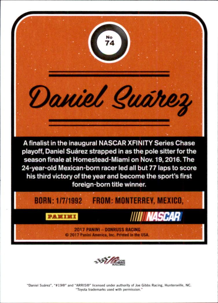2017-Donruss-Racing-s-1-189-RCs-Inserts-A2404-You-Pick-10-FREE-SHIP thumbnail 89