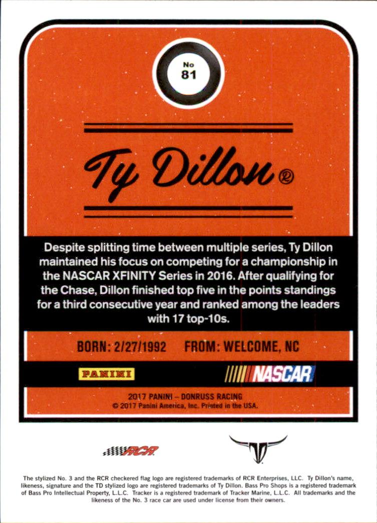 2017-Donruss-Racing-s-1-189-RCs-Inserts-A2404-You-Pick-10-FREE-SHIP thumbnail 103